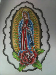 Mother Mary by mucksoup