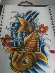 koi fish flash by mucksoup