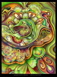 Purple Bird's Dream by strohat