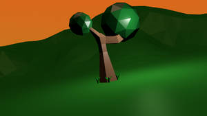 The Low Poly Tree by Gindew
