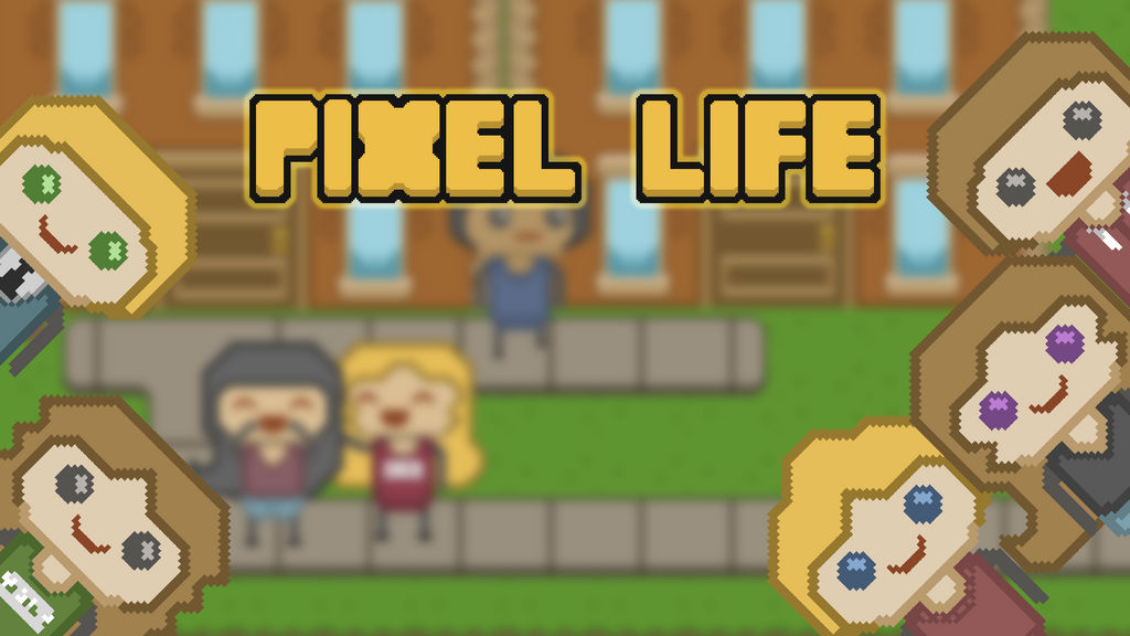 Pixel Life Wallpaper (1080p) by Gindew