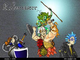 RPGMp3 Rolemaster Wallpaper by mokkurkalfe