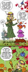 Discworld - Magrat the Fairy Godmother by mokkurkalfe