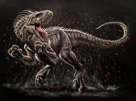 Indoraptor Jurassic World 2 by Israel-C