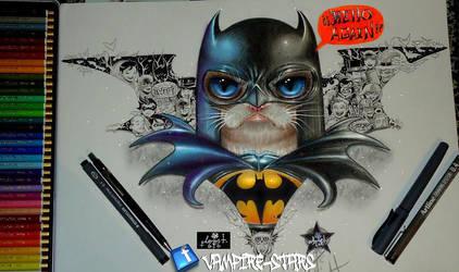 Batsy-grumpy by vampire-stars