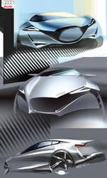 Audi sketches by alex-ek