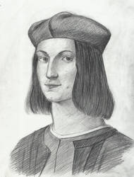 Master study, Portrait of the Young Pietro Bembo by tulvit