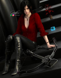 'Insert a good tittle here' - Ada Wong by LeonCray