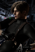 I'm not falling for that one - Leon Kennedy by LeonCray