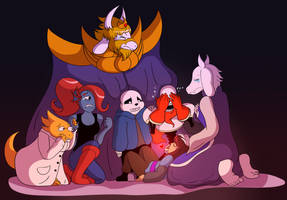 Undertale: Wake Up! Your Friends Are Waiting! by CoolFireBird