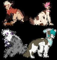 [CLOSED] Broken Boi Adopts by SpiralinStars