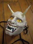 Kabuki mask by GreatShinigami