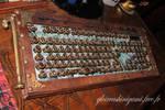 Steampunk keyboard by GreatShinigami