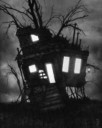 Darkhouse by SkylerBrown