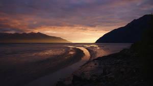 Alaska Sunset by SkylerBrown