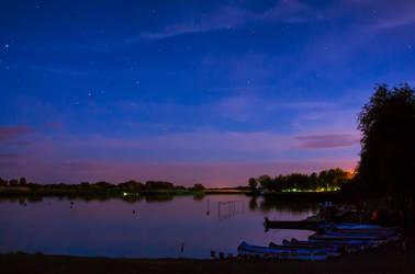 summer evening by edinaB