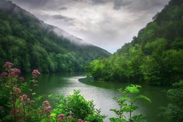 at the lake... by EdinaBaltas