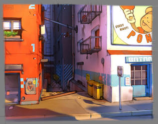 Freestyle alley by GrayShuko