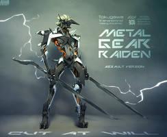 RaidenAssault01S by GrayShuko