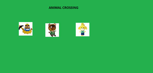 Animal Crossing by flyscratch