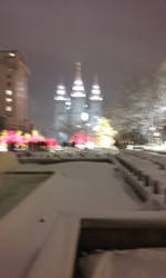 LDS temple Winter last year by MANKEE