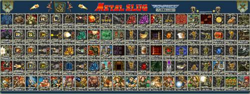 Metal Slug Advance Cards by SSSS7777