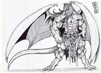 Goliath by vandalocomics