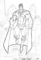 SUPERMAN by vandalocomics