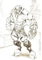 Minotaur by vandalocomics