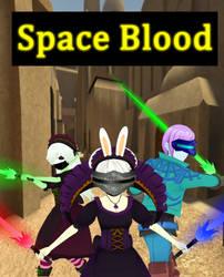 Space Blood Poster by DarkKomet