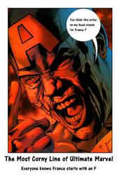 The Most Corny Line of Ultimate Marvel by DarkKomet
