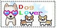 Dog Lover Stamp by The-Yellow-Snake