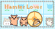 Hamster Lover Stamp by The-Yellow-Snake