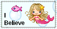Mermaid Believer Stamp by The-Yellow-Snake
