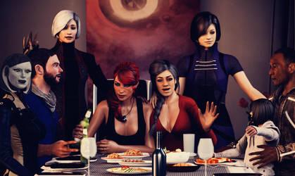 RuRi Family Dinner by elmjuniper