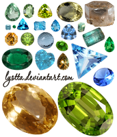 crystals by Lyotta