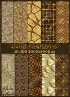 Shiny gold textures by Lyotta