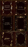 Jewelry frames backgrounds by Lyotta