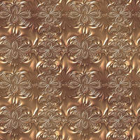 Golden seamless texture with embossing by Lyotta