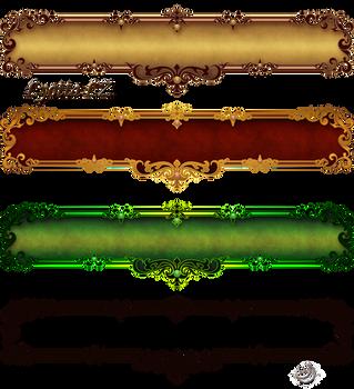 Borders labels by Lyotta