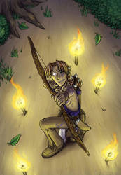 Tamuran Chapter 2 Cover Art by ansuz