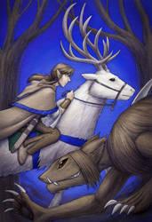 Tamuran Book 1 cover art by ansuz