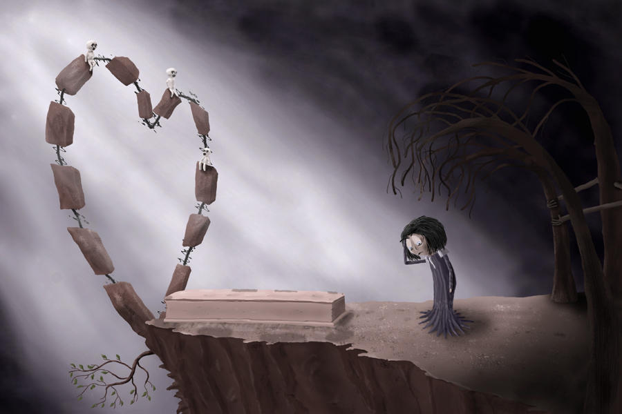 Buried Love by kalais
