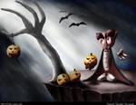 Fella's Halloween Preparation by kalais