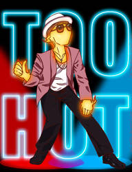 Uptown Funk ft.Grillby by Red-Matter