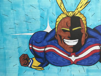 Black all might by XPlewis