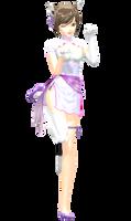 MMD - Neko Meiko by YellowDesuCake
