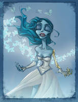 Corpse Bride: Set free by vejiicakes