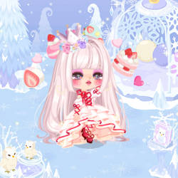 Crystallized Princess by VainillaMoon