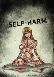 Self-harm cutts art by Pixie-Vampire